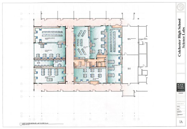 Design of proposed revitalized classrooms and laboratories