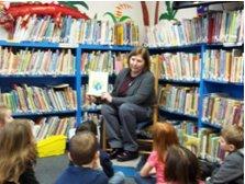 Guest reader Kim Newton
