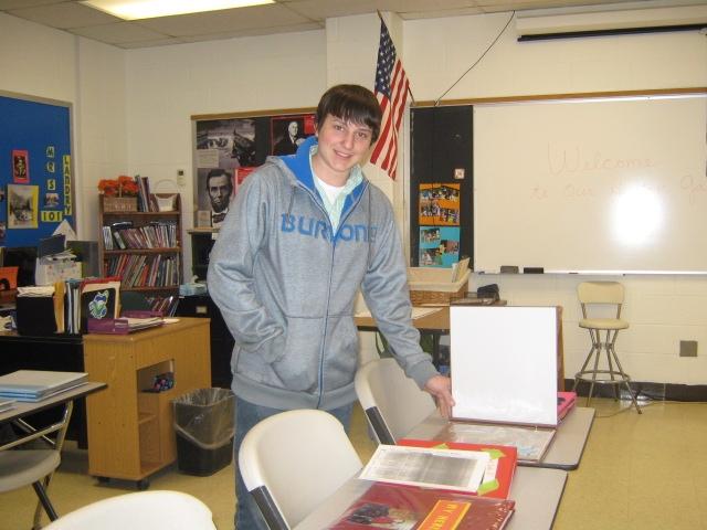 CHS student Jake Dwinell