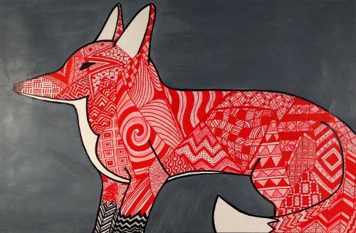 "Marie Bouffard's ""Aztec Fox"""
