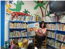 UMS guest reader Sue Phillips