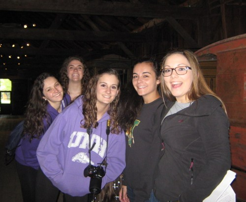 CHS sophomores Kiera Mulcahy, Alex Richard, Mikayla Racine, Miranda Scorsome, and Annie Meadows