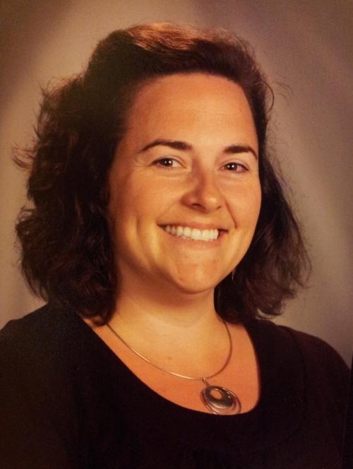 CMS Humanities teacher Jenn Roberge