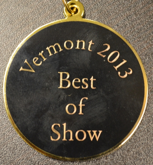 CHS senior Nick Bezio won the Vermont 2013 Best of Show award for his submission to the Junior Duck Stamp Contest