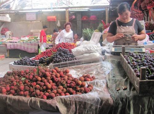 A market in Beijing