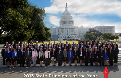 CHS Principal Amy Minor in Washington DC in September