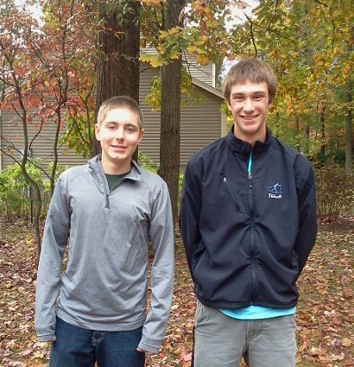 CHS students Nigel and Ethan Thibault