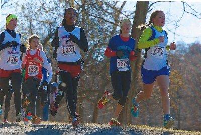 Myla is runner #1279 in the New York race