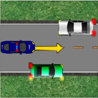 motorists must pull to the right as far as possible and come to a complete stop when an emergency vehicle approaches