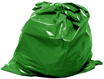 Green garbage bag_s