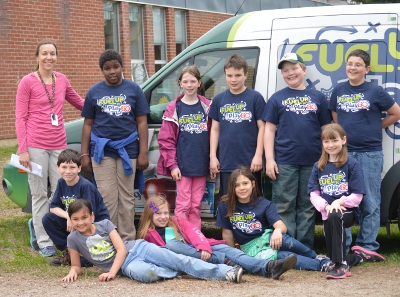 MBS's Fuel Up to Play 60 Wellness Committee with CSD's wellness coordinator Jaycie Puttlitz on May 9