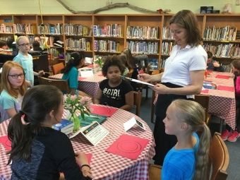 Book Tasting for MBS 4th graders 6